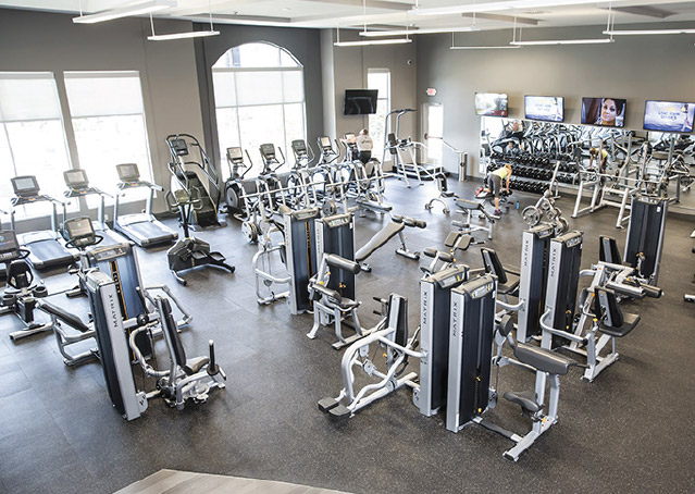 Commercial Amenities Aria Fitness
