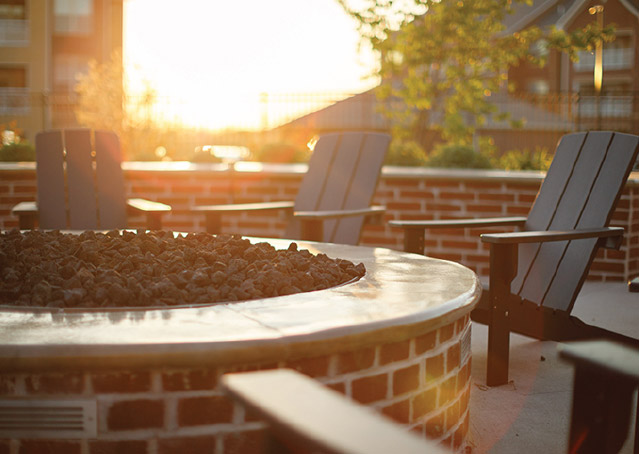 Commercial Amenities Fire Pit