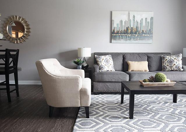 Commercial Executive Aria Apartment Interior