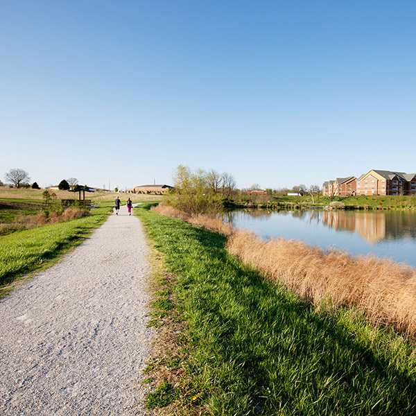 Walking Trail For Commercial Tenants