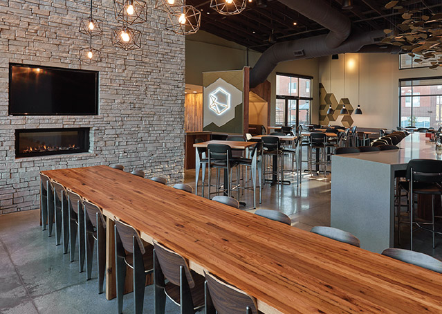 Commercial Office Benefit Park Dining