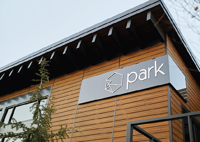 Commercial Office Benefit Park Sign